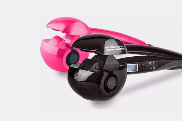 Magic Auto Hair Curler With LCD Screen