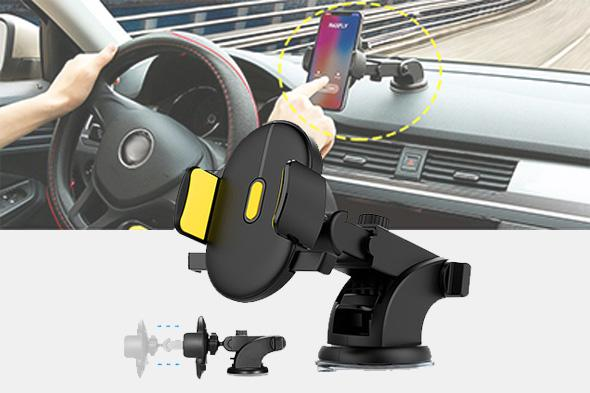 Universal Auto-locking Phone Bracket - Farertop