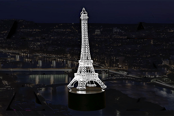 Paris Eiffel Tower Lamp - Farertop