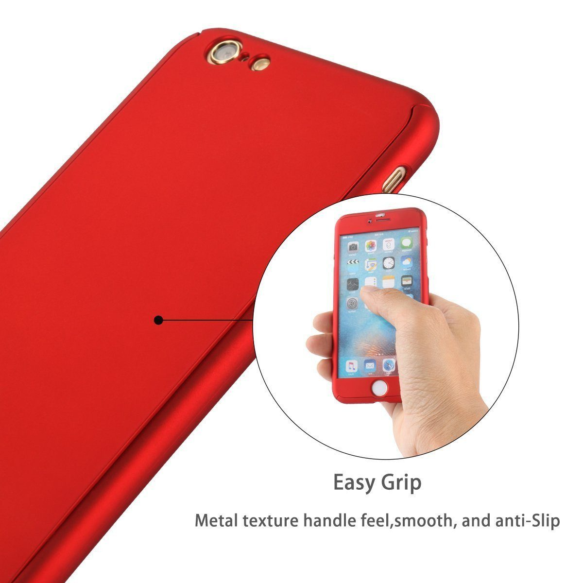 360° Full Protection Phone Case for iPhone