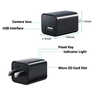 USB CHARGER WITH HIDDEN SPY CAMERA - Farertop