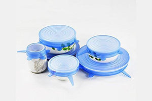 Silicone Food Storage Lids (6 PCS) - Farertop