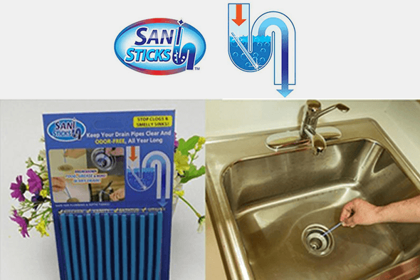 Sani Sticks Drain Cleaner and Deodorizer - Farertop
