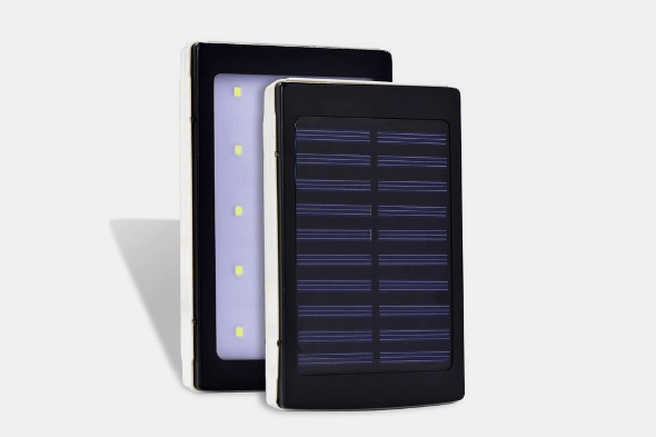 20000mAh Solar Power Bank with 20 LED Lights - Farertop