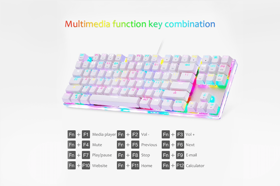 LED Backlit Mechanical Keyboards - Farertop