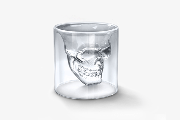 Crystal Skull Shot Glasses