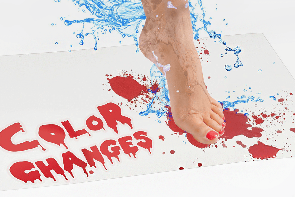 Unique Bloody Bath Mat