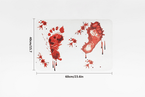 Unique Bloody Bath Mat - Farertop