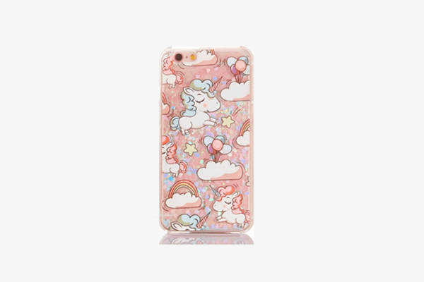 Unicorn Glitter Phone Case for iPhone
