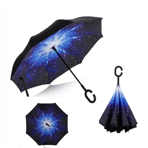 Smart Reversible Umbrella (26 Patterns)
