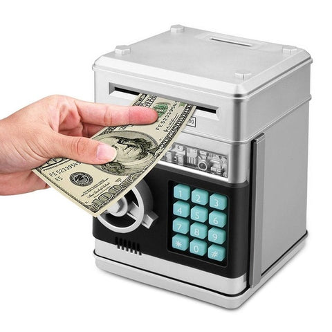 Electronic Piggy Bank Password ATM