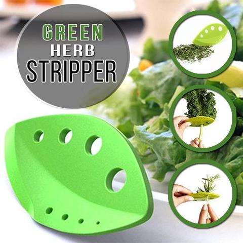 Easy Herb Vegetable Leaf Stripper