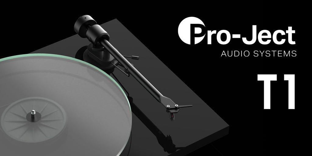Pro-Ject release the T1 Series Turntables