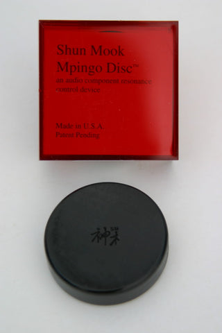 Shun Mook Mpingo Disk - Resonance Regulation - Kronos AV