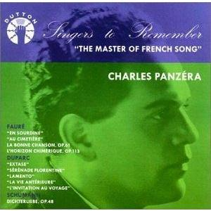 Master Of French Song, The (Panzera) CD