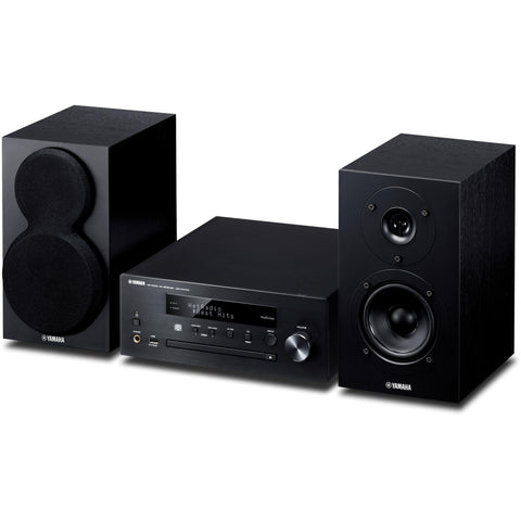 Yamaha MCR-N470D Complete Desktop Audio System with Bookshelf Speakers