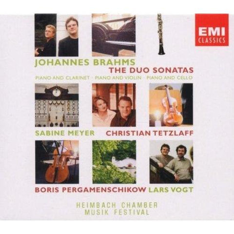 Brahms: The Duo Sonatas Box set CD