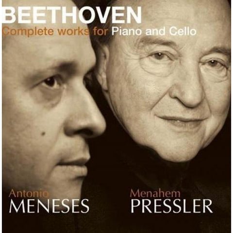 Beethoven: Complete Music for Cello & Piano CD