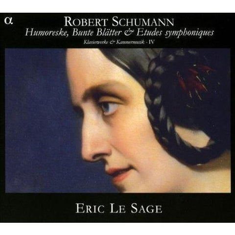 Schumann - Piano Works and Chamber Music IV (Eric Le Sage) Double CD