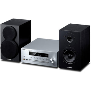 Yamaha MCR-N470D Complete Desktop Audio System with Bookshelf Speakers - Kronos AV - Interest Free Credit 0% - FREE Shipping