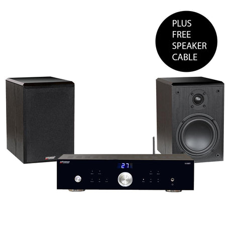 Advance Acoustic X-i50BT Amplifier + K3 SE Bookshelf Speakers (BUNDLE SALE) - Kronos AV