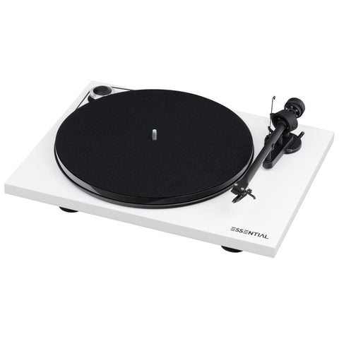 Pro-Ject Audio Systems Essential III Digital Turntable / Record Player - Kronos AV