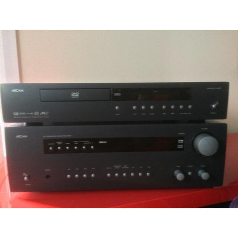 Arcam DVD Player Model DV89 with remote CR314 &  Arcam AVR 200 AV Receiver 5.1 Dolby Digital/DTS Used - Kronos AV