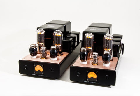 Icon Audio MB845 MKII M Valve 845 Mono Bloc Power Amplifiers - Kronos AV