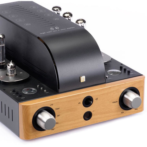 Unison Research S6 Class A Integrated Valve Amplifier - Kronos AV