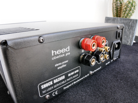 Heed Audio Obelisk PS Stereo Integrated Amplifier - Kronos AV