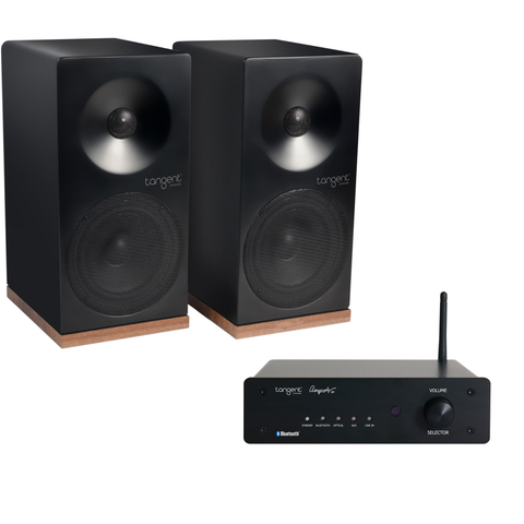 Tangent Ampster Bluetooth Amplifier & Spectrum X4 Speakers - Package Deal