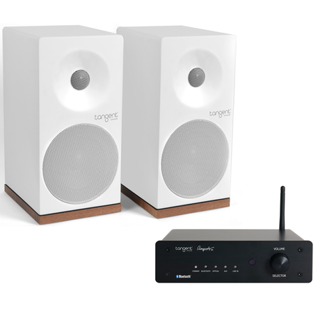 Tangent Ampster Bluetooth Amplifier & Spectrum X4 Speakers - Package Deal - Kronos AV
