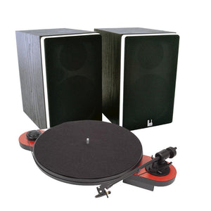Pro-Ject Elemental Turntable & Roth VA4 Active Speaker System