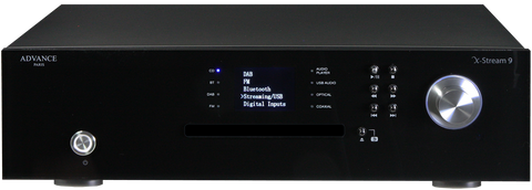 Advance Paris X-Stream 9 Streamer & CD Player - Kronos AV
