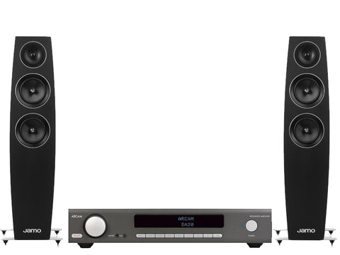 Arcam SA20 Integrated Amplifier & Jamo C95 Floorstanders