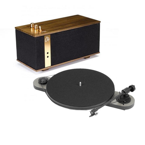Klipsch The One & Pro-Ject VT-E Bluetooth Turntable