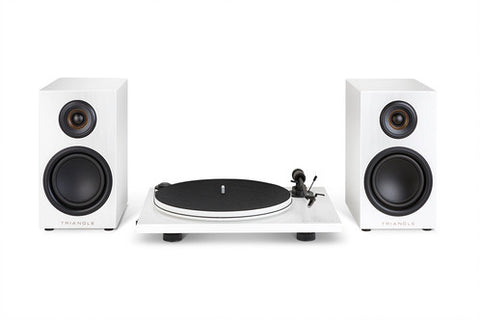 Triangle Elara LN01A Active Loudspeakers & Turntable Bundle - Kronos AV