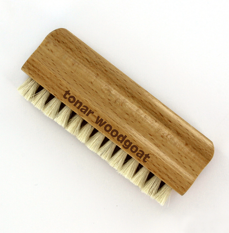 tonar WoodGoat Goat Hair Record Brush