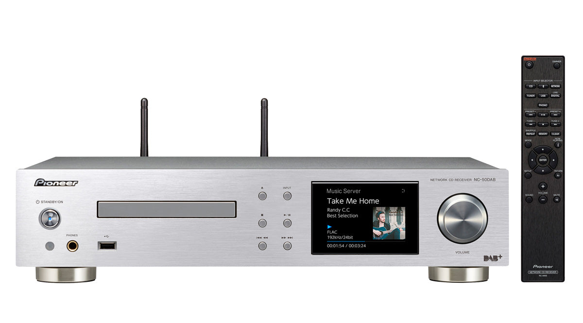 Pioneer NC-50DAB All in One System with Class D Amp,CD, WiFi