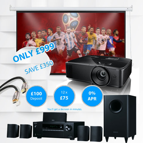 World Cup Special - Full Home Cinema Projection System - Kronos AV