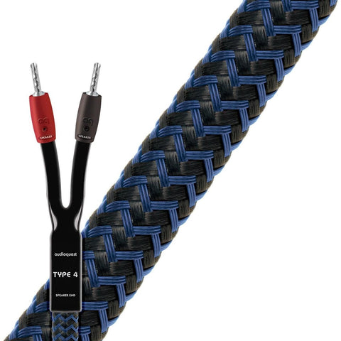 AudioQuest Type 4 Star Quad Speaker Cable - Kronos AV