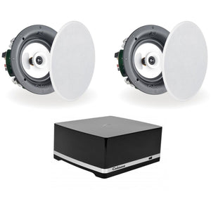 Cabasse Stream Amplifier & Archipel 17ICD In Ceiling Speakers - Kronos AV - Interest Free Credit 0% - FREE Shipping