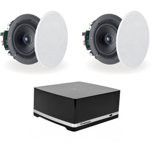 Cabasse Stream Amplifier & Archipel 17ICP In Ceiling Speakers - Kronos AV - Interest Free Credit 0% - FREE Shipping
