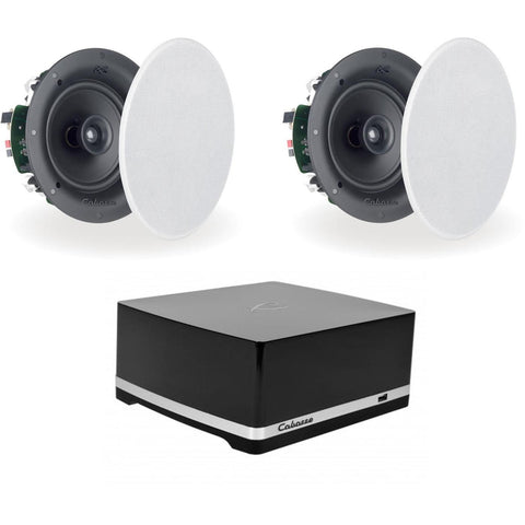 Cabasse Stream Amplifier & Archipel 17ICP In Ceiling Speakers - Kronos AV