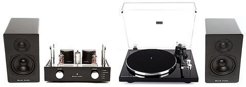 Blue Aura Blackline V40, PG1, PS40 Turntable System