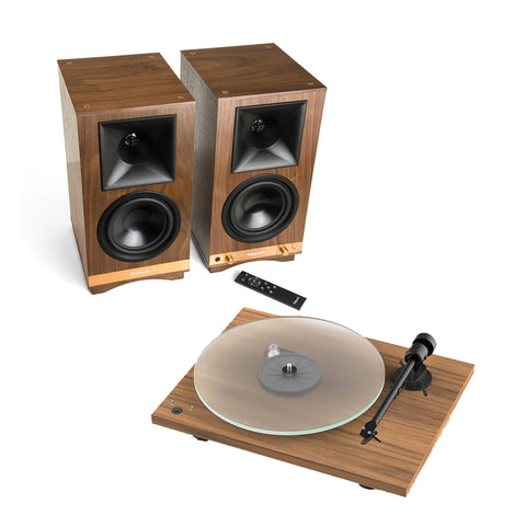 Klipsch The Sixes & Pro-Ject T1 Turntable