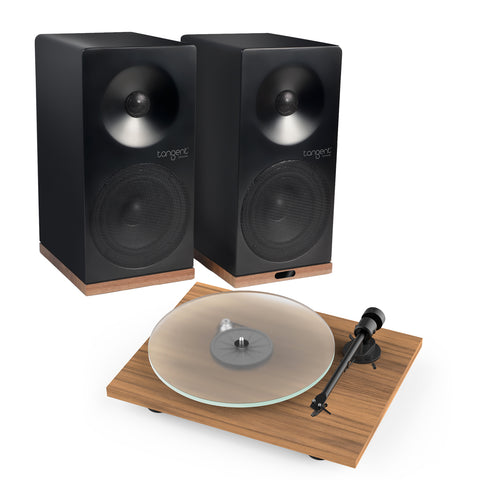 Pro-Ject T1 Turntable & Tangent X5 BT Speakers