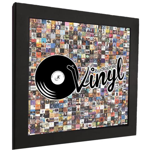 "AudiophileVinyl.co.uk 12"" Record Album Frame - Kronos AV"