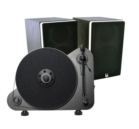 Roth VA4 Active Speaker System & Pro-Ject VT-E Turntable - Kronos AV