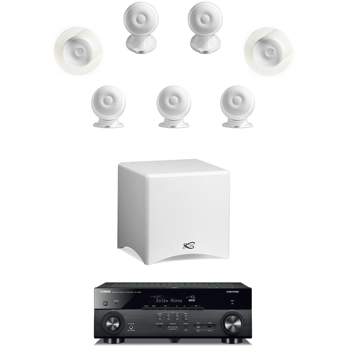 Cabasse Eole 3 & Yamaha RX-A660B Dolby Atmos® & DTS:X™ System